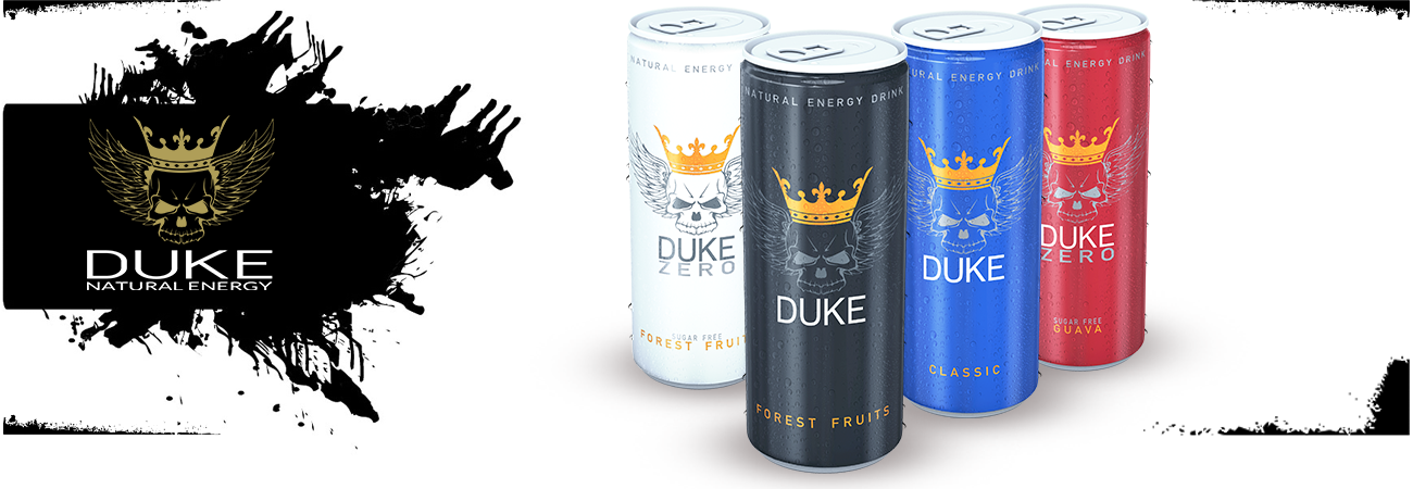 DUKE Energy Drinks